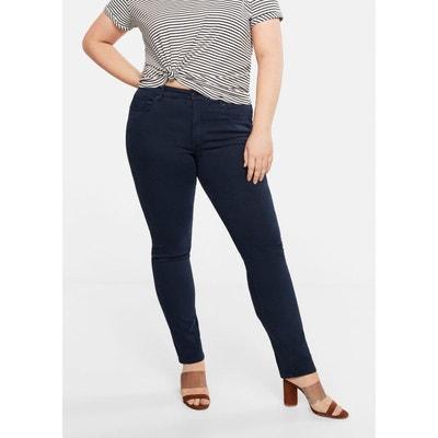 nouvelle version couleur attrayante prix raisonnable Jean bleu marine femme   La Redoute