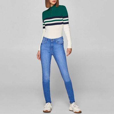 b6f1ec7034a4 Jean skinny taille haute Jean skinny taille haute ESPRIT