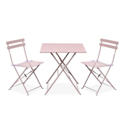 Salon de jardin rose | La Redoute