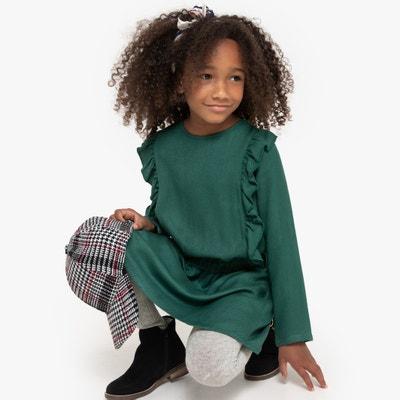 Soepele jurk met volants, 3-12 jaar Soepele jurk met volants, 3-12 jaar LA REDOUTE COLLECTIONS