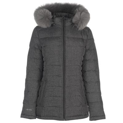 Doudoune veste capuche en fausse fourrure KARRIMOR. Soldes c835fa02eab