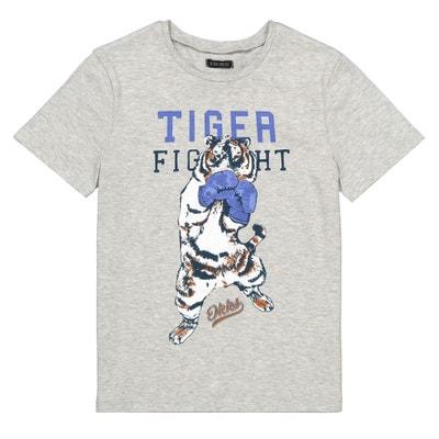 0c3041970879e T-shirt imprimé pur coton 4-14 ans T-shirt imprimé pur coton. IKKS JUNIOR