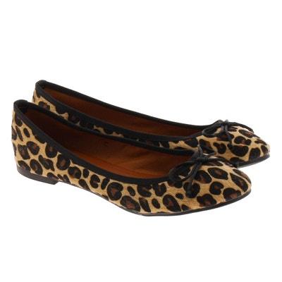 4c4c6900fd2 Ballerines Leopard Ballerines Leopard DUPOND DURAND