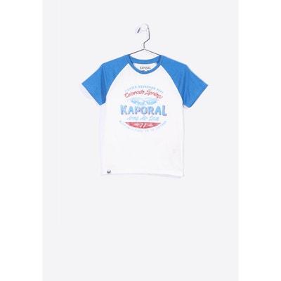 32cc142b3b5f4 T-shirt imprimé à manches courtes raglan AXO KAPORAL