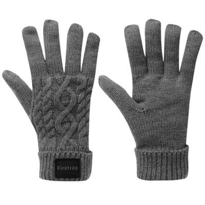 abe7bb970894 Gants d hiver tricotés tricot Gants d hiver tricotés tricot FIRETRAP