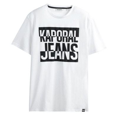 ca2c3b68ee444 T-shirt Poggo col rond, imprimé poitrine T-shirt Poggo col rond,
