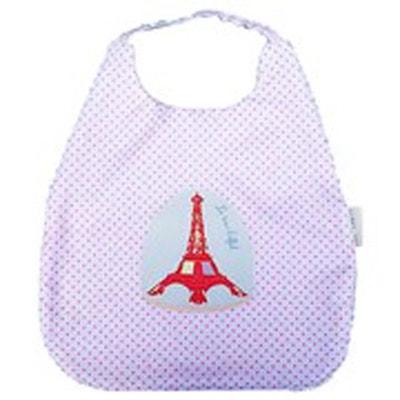 fe3ecc3dd858d Bavoir bébé élastiqué Tour Eiffel liberty géométrique LES INUIT