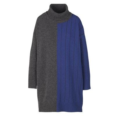 meilleure sélection 4ddbe acf47 Robe laine noire manche longue | La Redoute