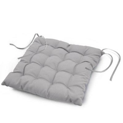 Coussin de chaise gris anthracite   La Redoute