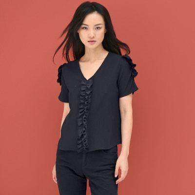 Blusa com decote em V c0506f9a329