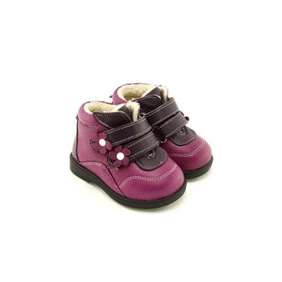 a29925e0bbfea Chaussures semelle souple montantes fourrées FREYCOO