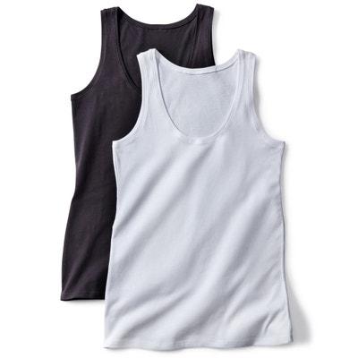 7a499005c Lote de 2 camisetas sin mangas