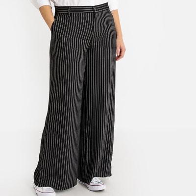 473e0ee25fa Striped Wide Leg Trousers