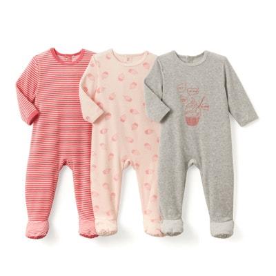 79a741e98e1 Lote de 3 pijamas de terciopelo
