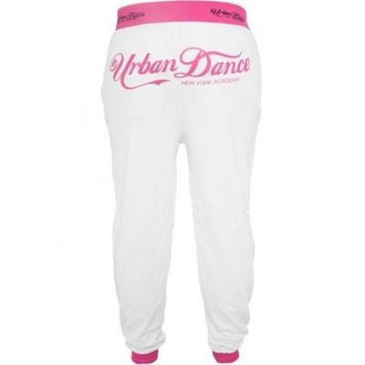 Bas de jogging Urban Dance NY Academy Blanc - Neon Rose Bas de jogging  Urban Dance f0d75733d2e