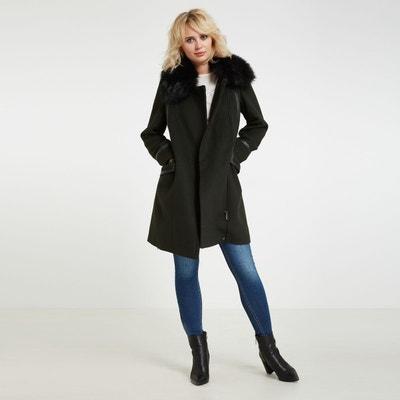 d0b1b4485d5 Manteau mi-long en laine mélangée Manteau mi-long en laine mélangée MORGAN