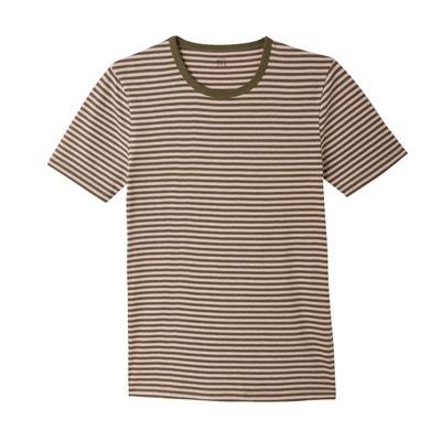 e7dae8697b0ea Tee shirt col rond rayé Tee shirt col rond rayé LA REDOUTE COLLECTIONS