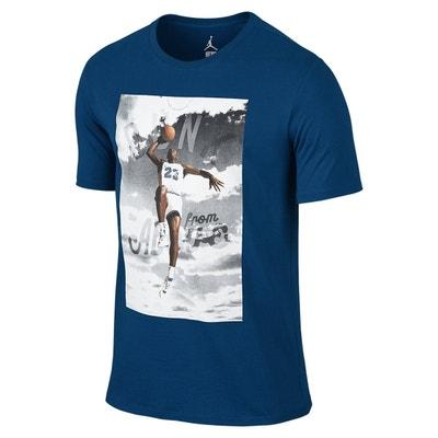d8456db70afd35 Tee-shirt Nike Jordan Dunk from Above - 725006-442 NIKE