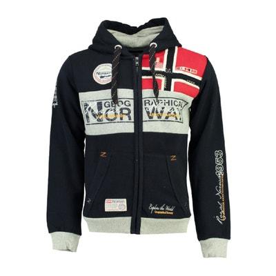 Sweater met rits en kap Flyer Sweater met rits en kap Flyer GEOGRAPHICAL NORWAY