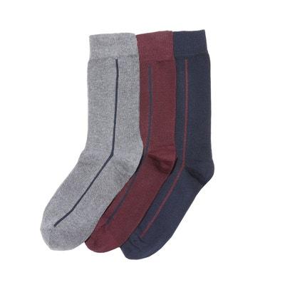 e9172ca2c07 Lot de 3 paires de chaussettes fantaisie Lot de 3 paires de chaussettes  fantaisie LA REDOUTE