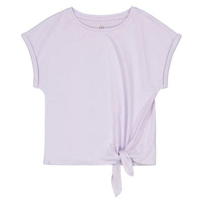 64a261595e082 T-shirt nœud côté 3-12 ans LA REDOUTE COLLECTIONS