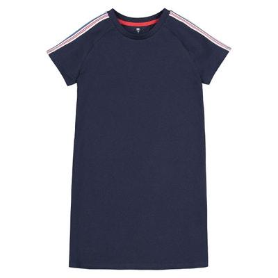 085237a7521c7 Robe T-shirt à manches courtes 10-18 ans Robe T-shirt à