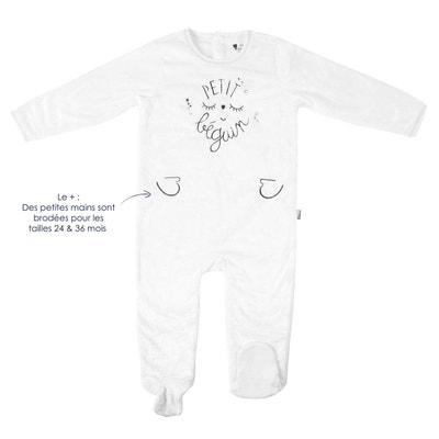 Pyjama bébé extra doux double épaisseur noir Petite Star PETIT BEGUIN 62b6a8493c6