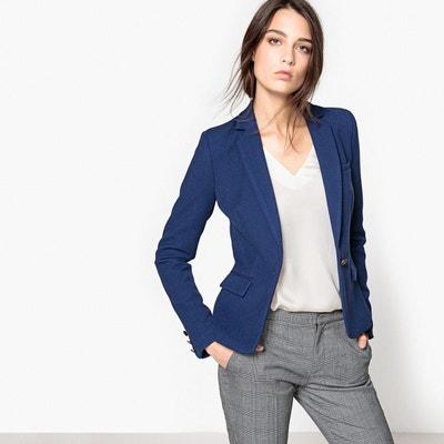 Petite veste bleu marine courte