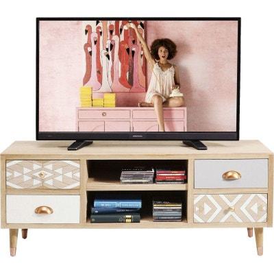 Meuble Tv Meuble Tv Design Blanc D Angle La Redoute