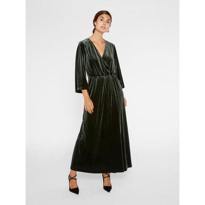 Robe Femme Velours Longue La Redoute qxr1qSF