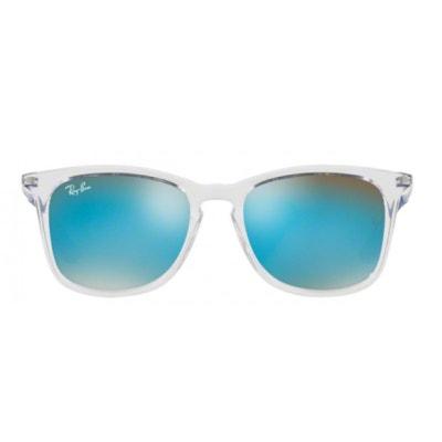 Lunettes de soleil pour enfant RAY BAN Bleu Marine RJ 9063S 7029B7 48 16 RAY 6947caebff89