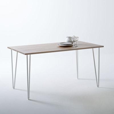 table a manger bois massif en solde la redoute. Black Bedroom Furniture Sets. Home Design Ideas