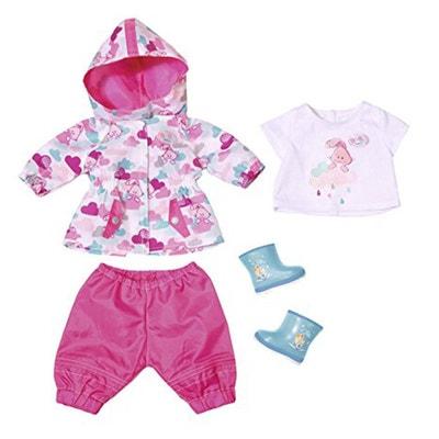 0154bb1ac747c Zapf Creation 823781 Les vêtements de pluie Deluxe pour Baby Born ZAPF  CREATION