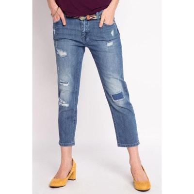 Jean ceinture elastique en solde   La Redoute e8b0fc9aa9f