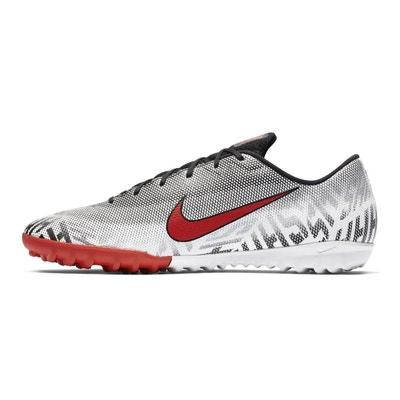 release date: 985d5 9bc4c Chaussures football Nike MercurialX Vapor XII Silencio Academy Neymar TF  Blanc Noir Chaussures football Nike