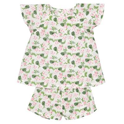 76745657c693d Pyjashort imprimé fleuri 3 ans-12 ans Pyjashort imprimé fleuri 3 ans-12 ans
