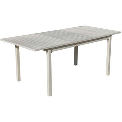 Table de jardin aluminium extensible | La Redoute