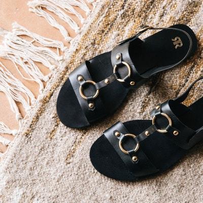 Leren sandalen Leren sandalen LA REDOUTE COLLECTIONS