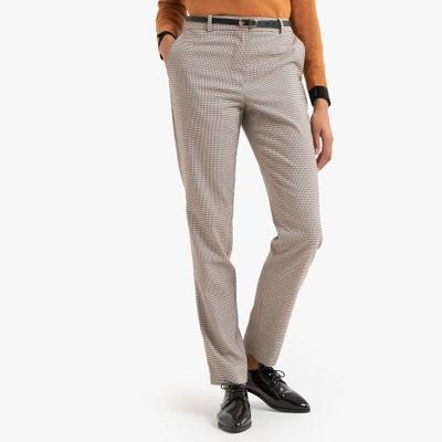 eef6d3dd57bce Pantalon slim à carreaux Pantalon slim à carreaux LA REDOUTE COLLECTIONS