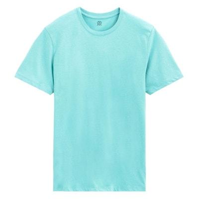 2d16e318d690 Tee shirt col rond en coton