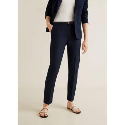 baafb171a0c62 Pantalon droit avec ceinture Pantalon droit avec ceinture MANGO