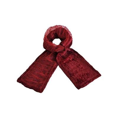 Écharpe rouge femme en solde   La Redoute 2f59846831b