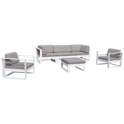 Salon de jardin aluminium haut de gamme | La Redoute