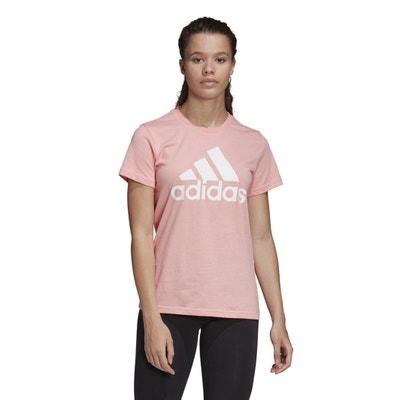 Sport T-shirt met ronde hals en korte mouwen Sport T-shirt met ronde hals en korte mouwen adidas Performance
