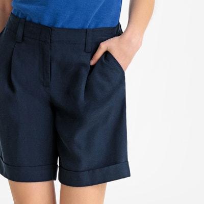 Korte Broek Maat 48 Dames.Grote Maten Bermuda Short Voor Dames La Redoute