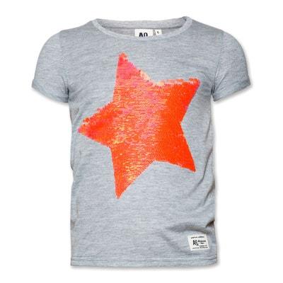 4a51b37e5c2cc T-shirt enfant pas cher fille - La Redoute Outlet en solde   La Redoute