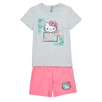 19b43b8b1a Pijama con short 4-10 años Pijama con short 4-10 años HELLO KITTY