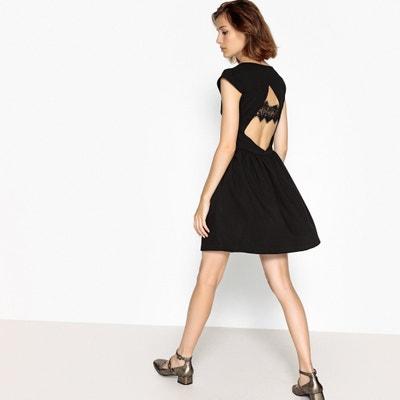 46bb32ccec5 Short-Sleeved Flared Mini Dress SUNCOO