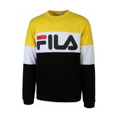 Fila T shirt Day noir et jaune mixte