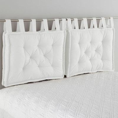 Tête de lit romantique blanc   La Redoute